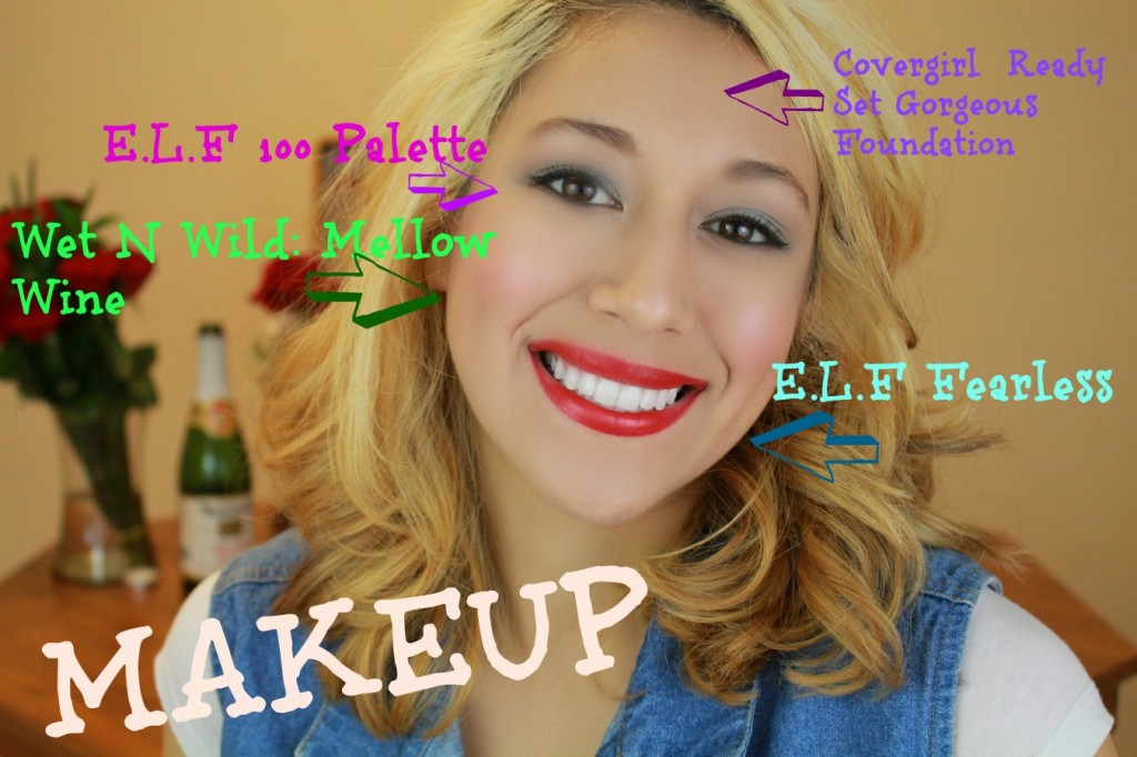my makeup look