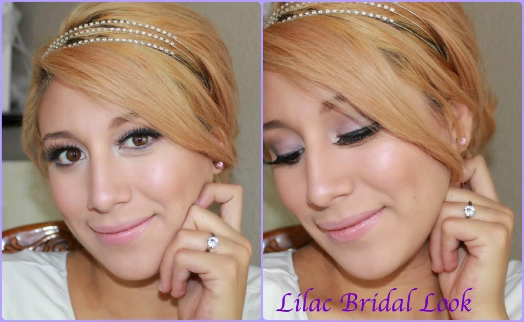 Lilac Bridal Look