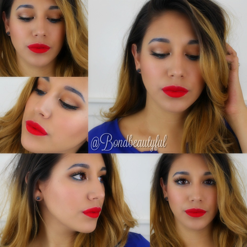 4th of july makeup tutorial bondbeautyful and you can tweek this makeup look however you like if you dont like the bold eyebrows then skip it if you dont like the red lip then go for a nude baditri Image collections